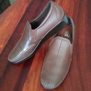 SAS Leather Slip-On Loafers